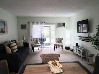 Photo for Beautiful Beach Condo. great Location walking distance to shops and restaurants.