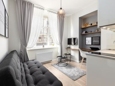 Photo for 1BR Apartment Vacation Rental in Centra rajons, Rīga