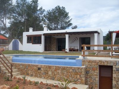 Photo for Ibizan house with private pool and sea views.(ETV / 0893-E)