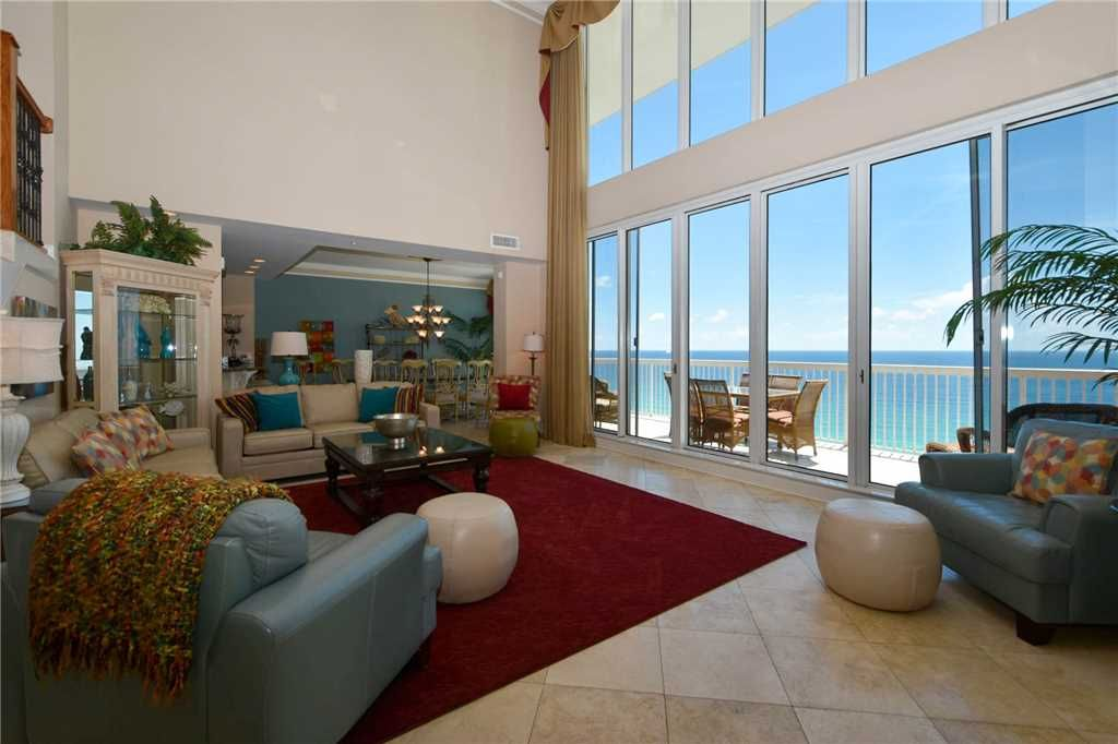 Penthouse condo on the beach 2 stories private garage - 1 bedroom condos in destin fl on the beach ...