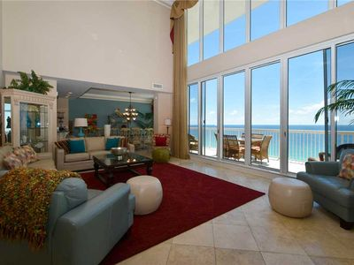 Penthouse Condo On The Beach 2 Story Livin Homeaway