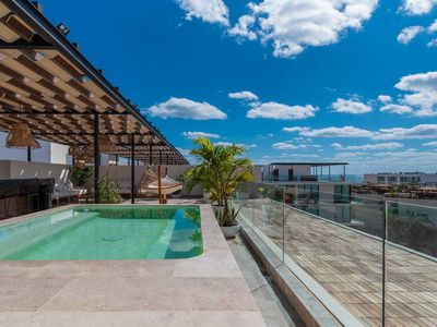 Photo for One of a Kind 4 Bedroom Penthouse in the heart of Playa del Carmen