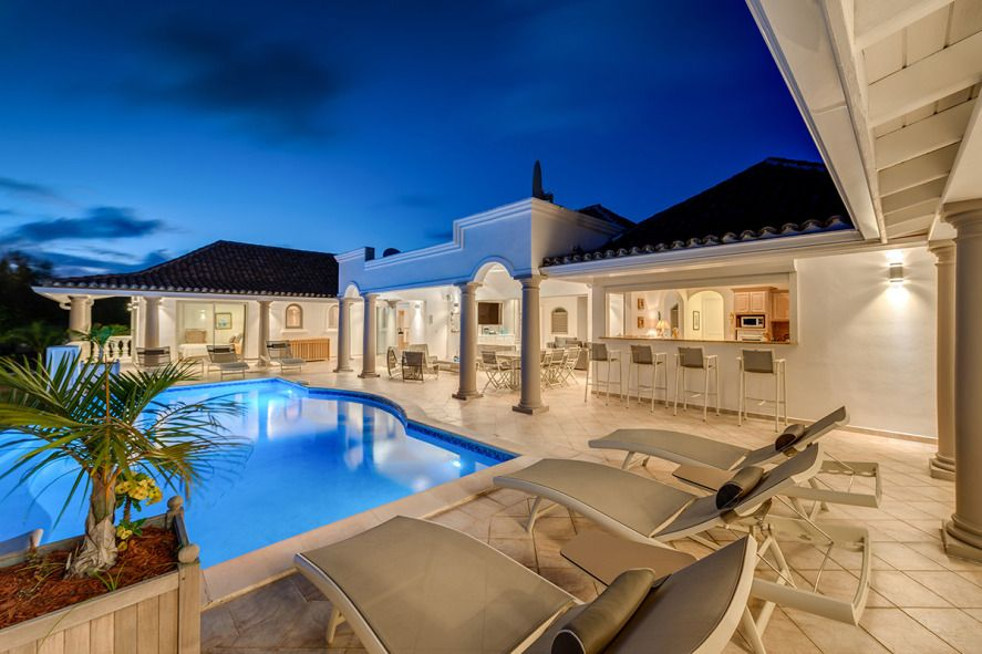 La Bastide at Terres Basses, Saint Maarten - Ocean & Sunset View, Pool