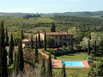Photo for 4 bedroom Villa, sleeps 8 in La Collina with Pool and WiFi