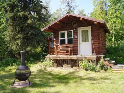 Photo for Rustic Little Dry Log Cabin