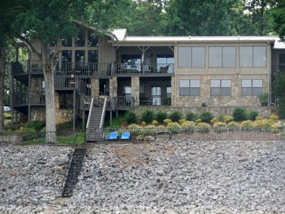 Waterfront property located at Point Pleasant on Enid Lake
