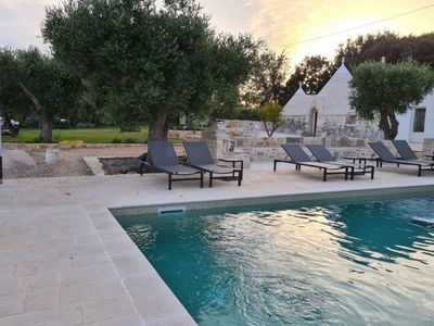 Photo for Trulli Balice with private pool