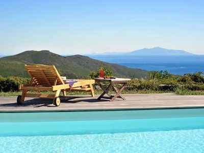 Photo for SMALL CAP CORSE BERGERIESdans between sea and mountains, swimming pool park