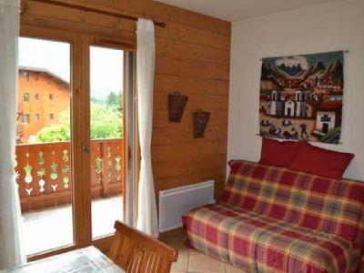 Photo for LA GELINOTTE - 2 rooms cabin - Capacity 6 people