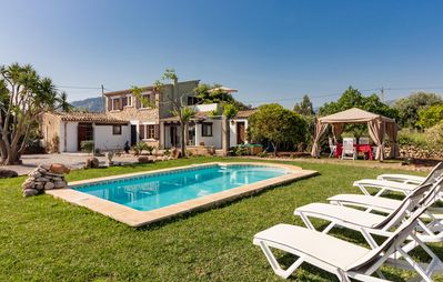 Photo for Villa with privarte pool walking distance to Pollensa town