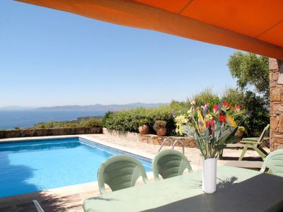 Photo for Vacation home Ferienhaus mit Pool (AGY120) in Agay - 6 persons, 3 bedrooms