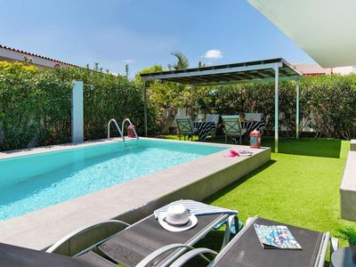 Photo for Bungalow, San Agustín  in Gran Canaria - 4 persons, 2 bedrooms