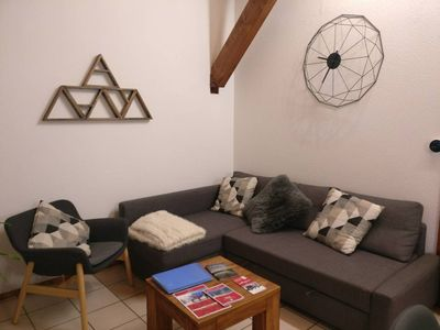 Photo for 2BR Apartment Vacation Rental in Les Houches, Auvergne-Rhône-Alpes