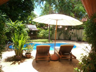 Photo for PARADISE ISLAND - LUXURY VIP 3 BEDROOM PRIVATE POOL  VILLA WITH TROPICAL GARDEN
