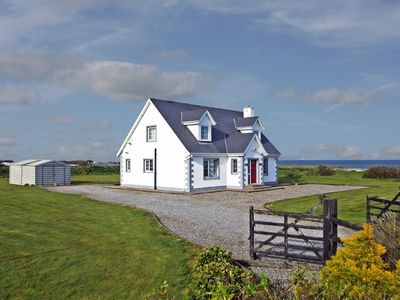 Photo for Detached dormer bungalow, in traditional style, in spacious grounds and enjoying sea views…