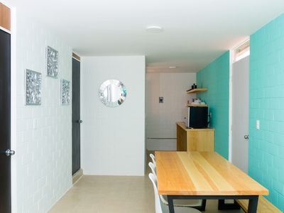 Photo for Family apartment 10min from the main beaches