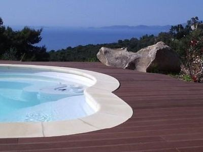 Photo for Villa at the foot of a beautiful beach near Ajaccio