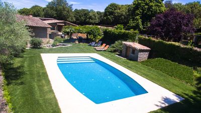 Photo for 4 bedroom Villa, sleeps 9 in Sant Julià de Vilatorta with Pool, Air Con and WiFi