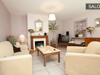 Photo for 3 min walk to the best beach St Malo, House, large garden, High Standards