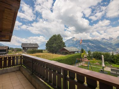 Photo for Appartement Villy, La Tzoumaz, Switzerland