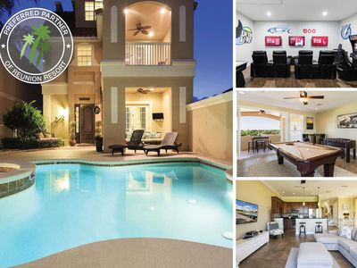 Photo for Sunset Villa | Amazing Pool Villa with 2 Game Rooms