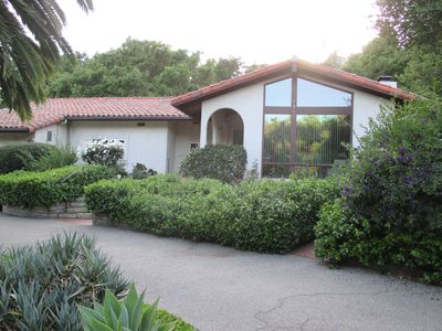 Photo for Peaceful, secluded spanish style home on 1.25 acres (Monthly rentals prefer)
