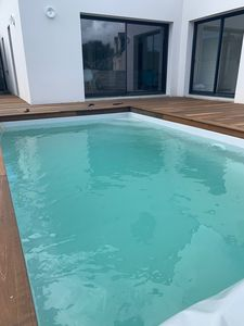 Photo for HOUSE WITH POOL IN POULIGUEN