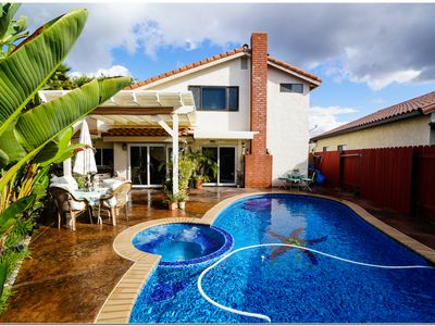 Photo for Gorgeous, Private, Comfortable, Quiet San Diego Family Retreat w/Fantastic Pool