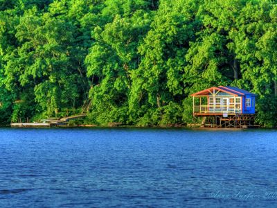 Woodward Cabin #2 with boat house