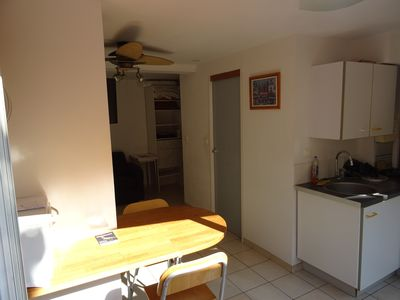 Photo for STUDIO + COUR 30 M² PROX BEACHES AND SHOPS