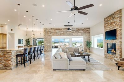 Living Room - Welcome to sunny Phoenix, where your home away from home is professionally managed by TurnKey Vacation Rentals!