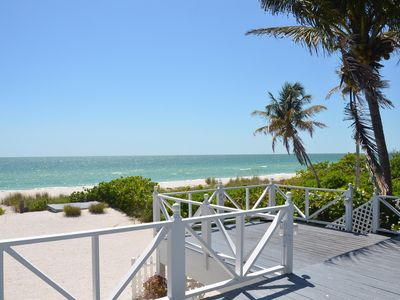 Photo for Beautifully Decorated, 3 Bedroom Home Right On The Beach.