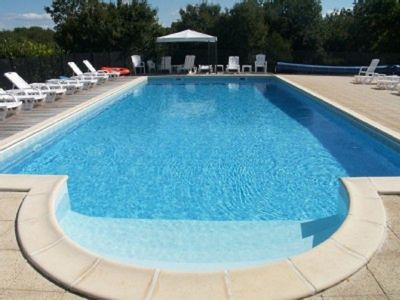 Lovely pool with a mixture of full sun or shade