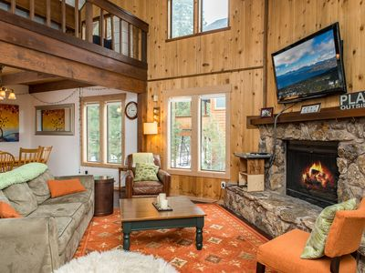 Photo for Rustic-Chic 3BR + Loft w/ Awesome Tahoe Donner Recreation Amenities