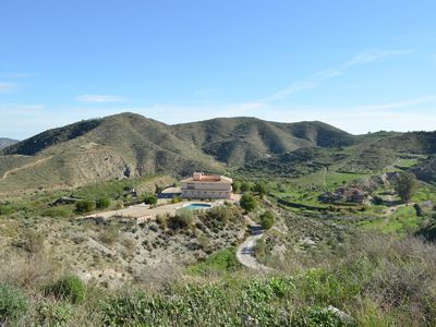 Photo for Beautiful apartment, high in the mountains with private pool & stunning views