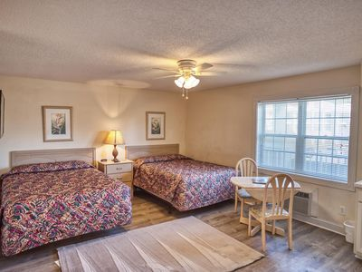 Photo for Studio unit at Brunswick Plantation Resort and Golf Villas, short drive to the beach(1205L)
