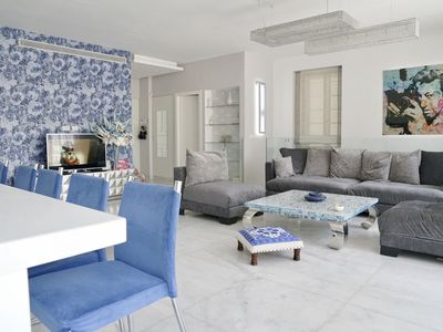 Photo for LUXURY DUPLEX WITH GARDEN AND TERRACE NEAR SEA, FREE WIFI