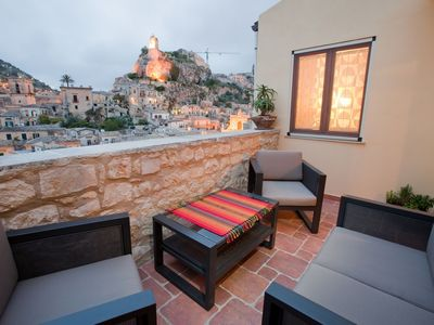 Photo for Beautifully Restored Heritage Home With A Panoramic View Of Modica Bassa.