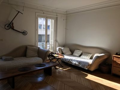 Photo for Beautiful Haussmann apartment of 70m2