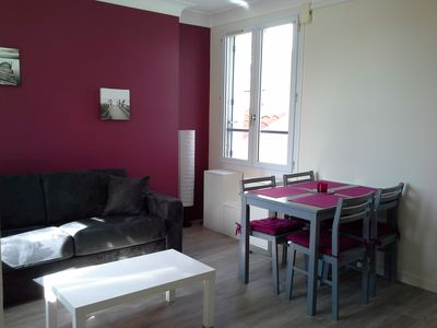 Photo for 2 * apartment 5 minutes from the beach and shops
