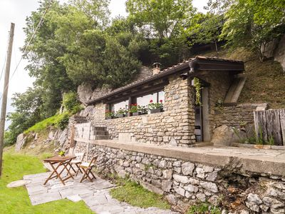 Photo for Romantic Holiday Home in Italian Lakes with Garden