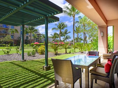 Photo for Maui Resort Rentals: Honua Kai – 7 Bedroom Groundfloor Resort Residence, Over 4500 Combined Sq. Ft., Massive Lawn Area, Steps to Pools/Beach/B.B.Q.s