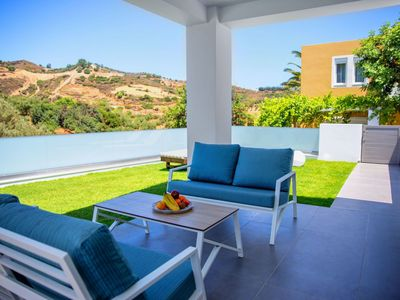 Photo for Wonderful private villa for 4 people with private pool, WIFI, A/C, TV and parking