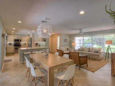 Photo for Island Dreams: Beautifully Remodeled West Gulf Drive Pool Home & Beach Oasis!