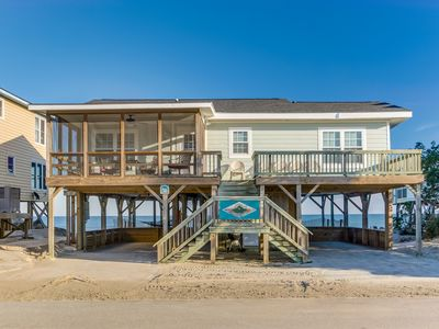 Photo for Sunset Lodge South End of Pawleys Island Creek Dock Great Views from Porches