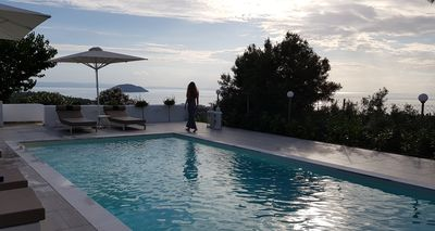 Photo for Amazing Villa with private pool and breathtaking panoramic sea view.