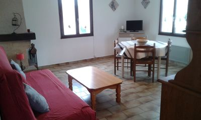Photo for In Balazuc (classified village): cottage 4 p + pool and river! # 3