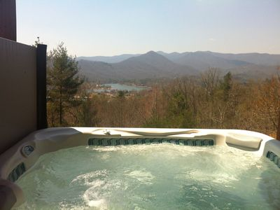 Photo for 10/25 Open! Brew and Q 10/26 Wow View Lake/Mtn 2 King Masters Hot Tub Wifi