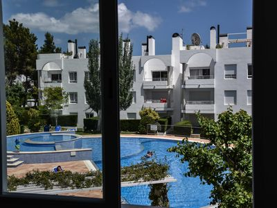 Photo for Wonderful contemporary apartment fully air conditioned fantastic  swimming pool