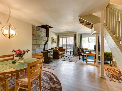 Photo for Within Steps of Both Worlds, Outdoors and Downtown: Bright Airy West Pearl Condo